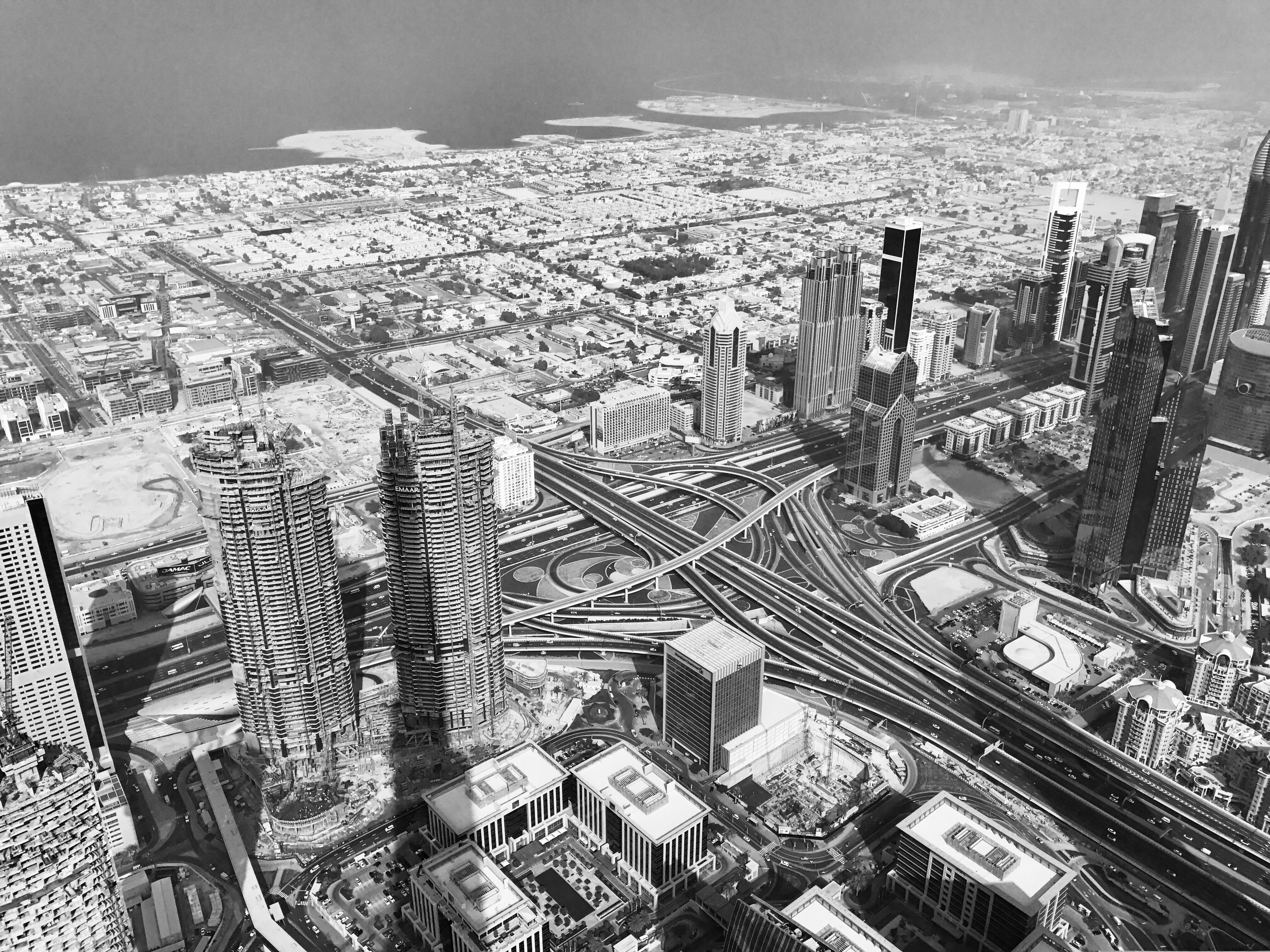 Dubai City fra Burh Kalif